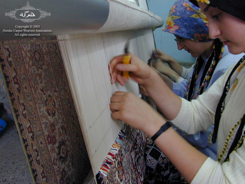 Hereke Silk Carpet Weavers
